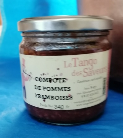 Compote Pomme Framboise